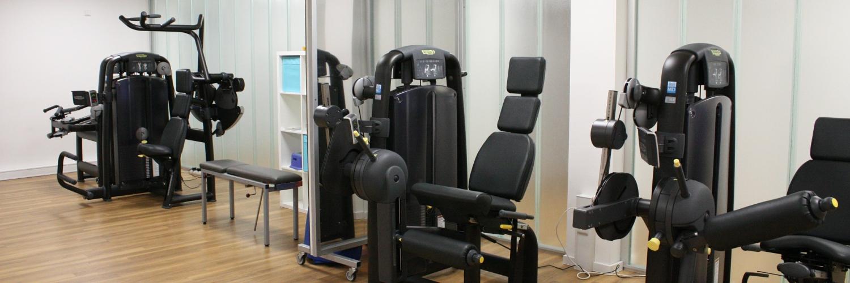 Physio Krollpfeifer Geräteraum neu